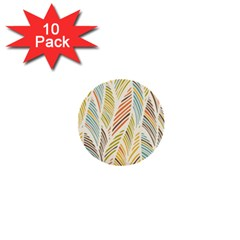Decorative  Seamless Pattern 1  Mini Buttons (10 Pack)  by TastefulDesigns