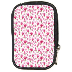 Watercolor Spring Flowers Pattern Compact Camera Cases by TastefulDesigns