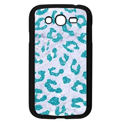 Skin5 White Marble & Turquoise Glitter Samsung Galaxy Grand Duos I9082 Case (black) by trendistuff