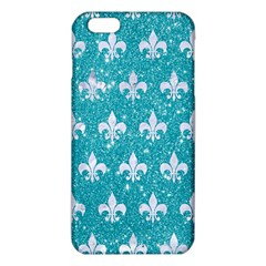 Royal1 White Marble & Turquoise Glitter (r) Iphone 6 Plus/6s Plus Tpu Case by trendistuff