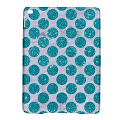 Circles2 White Marble & Turquoise Glitter (r) Ipad Air 2 Hardshell Cases by trendistuff