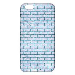 Brick1 White Marble & Turquoise Glitter (r) Iphone 6 Plus/6s Plus Tpu Case by trendistuff