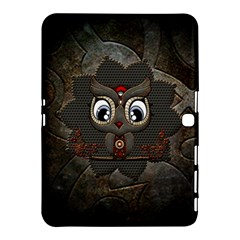 Wonderful Cute  Steampunk Owl Samsung Galaxy Tab 4 (10 1 ) Hardshell Case  by FantasyWorld7