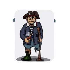 Cute Pirate Apple Ipad 2/3/4 Protective Soft Cases by ImagineWorld