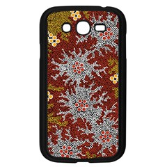 Aboriginal Art – Riverside Dreaming Samsung Galaxy Grand Duos I9082 Case (black) by hogartharts