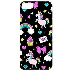 Cute Unicorn Pattern Apple Iphone 5 Classic Hardshell Case by Valentinaart