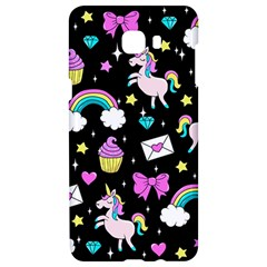 Cute Unicorn Pattern Samsung C9 Pro Hardshell Case  by Valentinaart