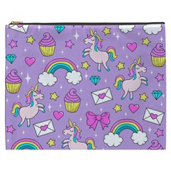 Cute Unicorn Pattern Cosmetic Bag (xxxl)
