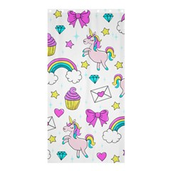 Cute Unicorn Pattern Shower Curtain 36  X 72  (stall)  by Valentinaart