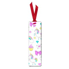 Cute Unicorn Pattern Small Book Marks by Valentinaart