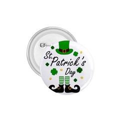 St Patricks Leprechaun 1 75  Buttons by Valentinaart