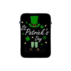 St Patricks Leprechaun Apple Ipad Mini Protective Soft Cases by Valentinaart