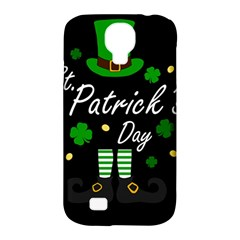 St Patricks Leprechaun Samsung Galaxy S4 Classic Hardshell Case (pc+silicone) by Valentinaart