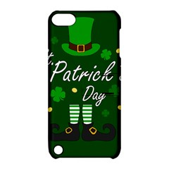 St Patricks Leprechaun Apple Ipod Touch 5 Hardshell Case With Stand by Valentinaart