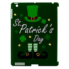 St Patricks Leprechaun Apple Ipad 3/4 Hardshell Case (compatible With Smart Cover)