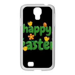 Happy Easter Samsung Galaxy S4 I9500/ I9505 Case (white) by Valentinaart