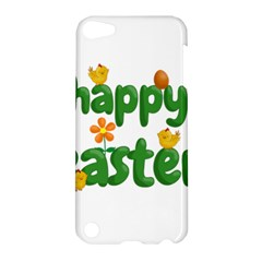 Happy Easter Apple Ipod Touch 5 Hardshell Case by Valentinaart