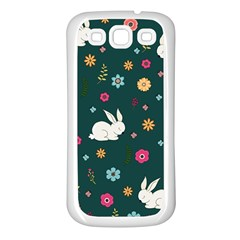 Easter Bunny  Samsung Galaxy S3 Back Case (white)