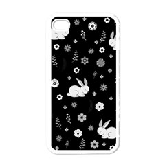 Easter Bunny  Apple Iphone 4 Case (white) by Valentinaart