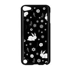 Easter Bunny  Apple Ipod Touch 5 Case (black) by Valentinaart