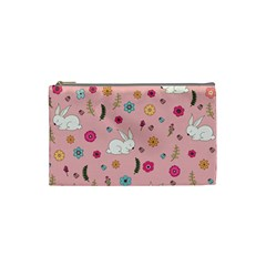 Easter Bunny  Cosmetic Bag (small)  by Valentinaart