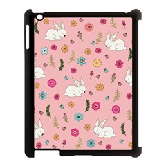 Easter Bunny  Apple Ipad 3/4 Case (black) by Valentinaart