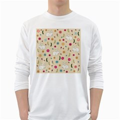 Easter Bunny  White Long Sleeve T Shirts