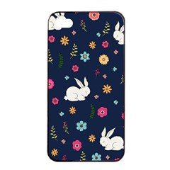 Easter Bunny  Apple Iphone 4/4s Seamless Case (black) by Valentinaart
