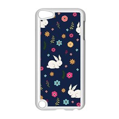 Easter Bunny  Apple Ipod Touch 5 Case (white) by Valentinaart