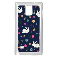 Easter Bunny  Samsung Galaxy Note 4 Case (white) by Valentinaart