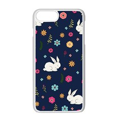 Easter Bunny  Apple Iphone 7 Plus Seamless Case (white) by Valentinaart