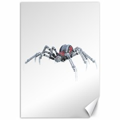 Bionic Spider Cartoon Canvas 12  X 18   by ImagineWorld