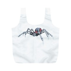 Bionic Spider Cartoon Full Print Recycle Bags (m)  by ImagineWorld