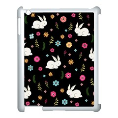 Easter Bunny  Apple Ipad 3/4 Case (white) by Valentinaart