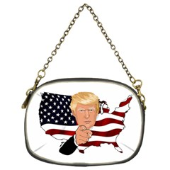 Trump Usa Flag Chain Purses (two Sides)  by ImagineWorld
