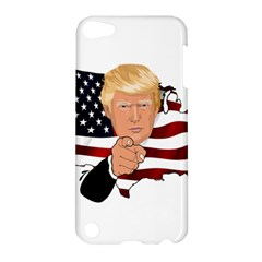 Trump Usa Flag Apple Ipod Touch 5 Hardshell Case by ImagineWorld