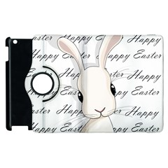 Easter Bunny  Apple Ipad 2 Flip 360 Case by Valentinaart