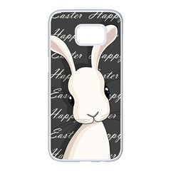 Easter Bunny  Samsung Galaxy S7 Edge White Seamless Case