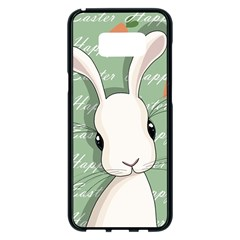 Easter Bunny  Samsung Galaxy S8 Plus Black Seamless Case