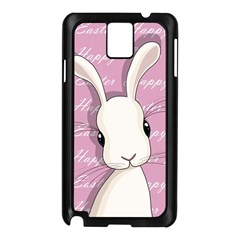 Easter Bunny  Samsung Galaxy Note 3 N9005 Case (black) by Valentinaart