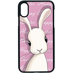 Easter Bunny  Apple Iphone X Seamless Case (black) by Valentinaart