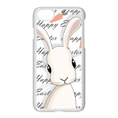 Easter Bunny  Apple Iphone 7 Seamless Case (white) by Valentinaart