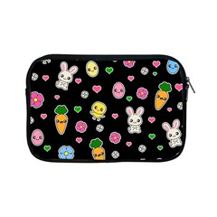 Easter Kawaii Pattern Apple Ipad Mini Zipper Cases by Valentinaart