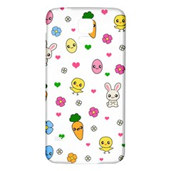 Easter Kawaii Pattern Samsung Galaxy S5 Back Case (white)