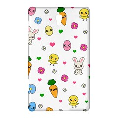 Easter Kawaii Pattern Samsung Galaxy Tab S (8 4 ) Hardshell Case  by Valentinaart