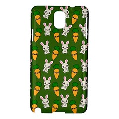 Easter Kawaii Pattern Samsung Galaxy Note 3 N9005 Hardshell Case by Valentinaart