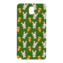 Easter Kawaii Pattern Samsung Galaxy Note 3 N9005 Hardshell Back Case by Valentinaart