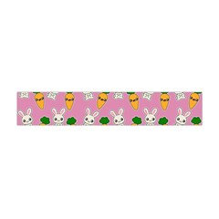 Easter Kawaii Pattern Flano Scarf (mini)