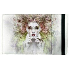 Woman Face Abstract Colorful Apple Ipad Pro 9 7   Flip Case by ImagineWorld
