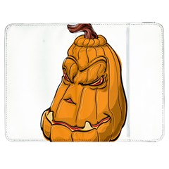 Sleeping Pumpkin Samsung Galaxy Tab 7  P1000 Flip Case by ImagineWorld